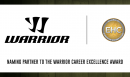 Warrior Sports will continue to recognize European club hockey's Career Excellence, Sportsmanship and Dedication