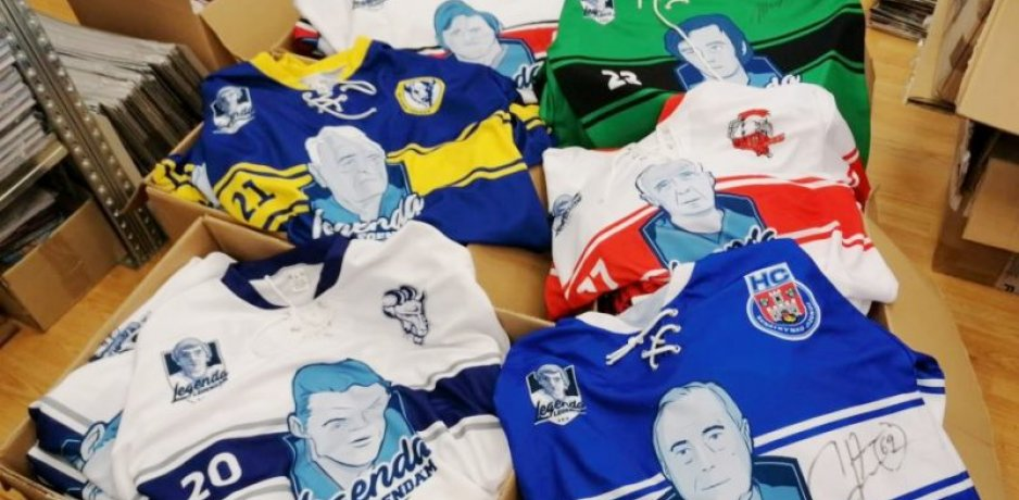Hockey jersey auction helps Hlinka Endowment Fund