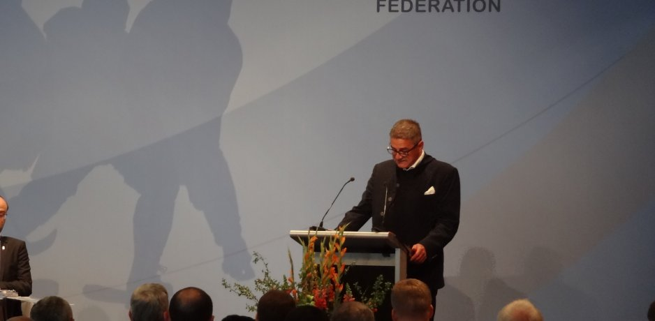 E.H.C. President's speech to IIHF Congress
