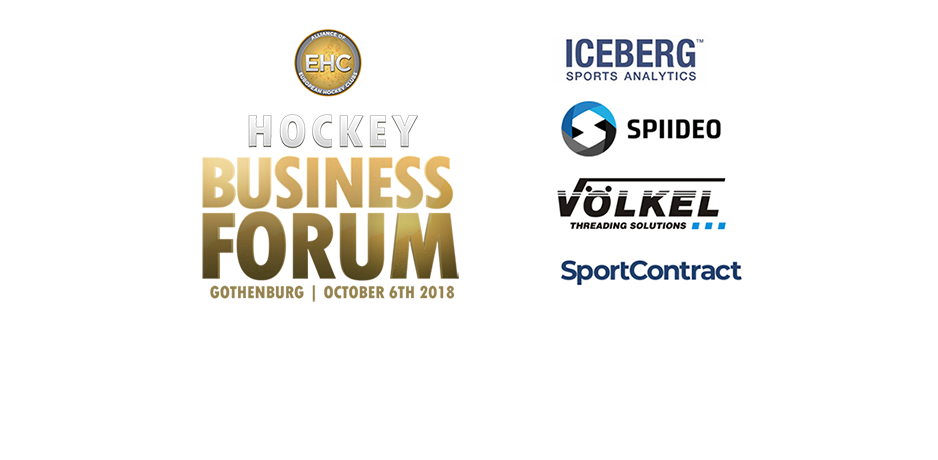 Meet the Hockey Business Forum's Official Main Partners and Vendors