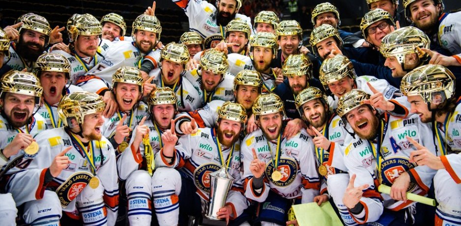 Lakers dominant in SHL title win