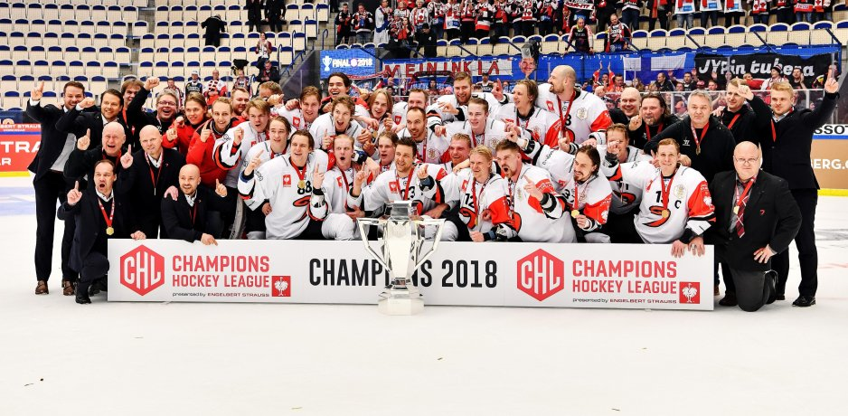 Jyp Is First Non Swedish Chl Winner Euro Hockey Clubs