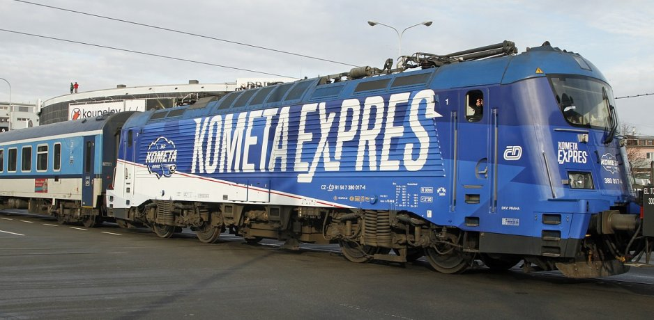 Kometa Expres: Brno players & fans travel to Prague in style