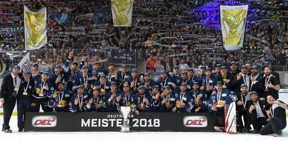 Three-peat for Red Bull München